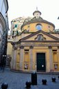 Torpete church in genoa italy Stock Image