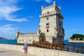 Torre de Belem. Lisboa. Belem Tower Royalty Free Stock Photo