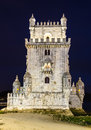 Torre de belem lisbon is fortified medieval tower located at the mouth of the tagus river in portugal was built in the early th Royalty Free Stock Photo
