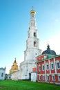 Torre de bell de st nicholas monastery ugresh Fotos de Stock Royalty Free