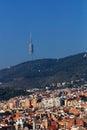 Torre de Collserola Stock Photos