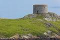 Torre de Martello. Ilha de Dalkey. Ireland Fotos de Stock Royalty Free