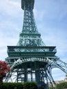 Torre de mini eiffel Fotografía de archivo libre de regalías