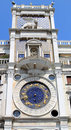 Torre dell Orologio or St Marks Clocktower, Venice Royalty Free Stock Photo