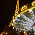 Torre eiffel and caroussel