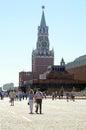 Torre el kremlin moscú de spasskaya Foto de archivo