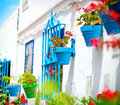 Torremolinos. Spanish White Village Royalty Free Stock Photo