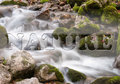 Torrent scenery from a in bavaria germany Stock Images