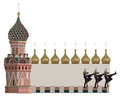 Torres de Kremlin Fotos de Stock Royalty Free