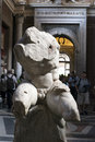 Torso del belvedere one of the famouse statues visible into the vatican museum in rome Royalty Free Stock Photos