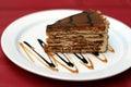 Torta de dessert.fancy Foto de archivo