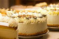 Torte in a bakery Royalty Free Stock Photo