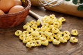 Tortelini - Italian raw pasta Royalty Free Stock Photos