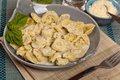 Tortellini Alfredo Royalty Free Stock Photo