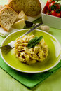 Tortellini with Butter and Sage Royalty Free Stock Photography