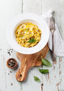 Tortellini with meat Royalty Free Stock Photo