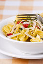 Tortellini primavera Royalty Free Stock Photo