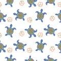 Tortoise Decorative Seamless V...