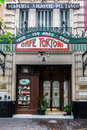 Tortoni Cafe Buenos Aires Argentina Royalty Free Stock Photos