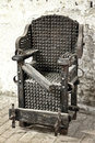 Torture chair Royalty Free Stock Photo