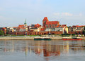 Torun old town, Poland Stock Photography