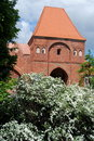 Torun, Poland: Gdanisko Tower Gateway Stock Photography