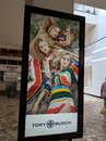 Tory Burch Ad in Ala Moana Mall