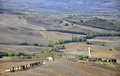 Toscana landscape beautiful in italy Royalty Free Stock Photography