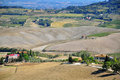 Toscana landscape beautiful in italy Stock Images