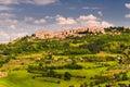 Toscana tuscany landscape view italy Stock Photos