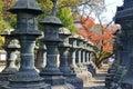 Toshogu shrine in ueno park tokyo japan Royalty Free Stock Photography