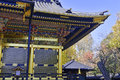 Toshogu shrine in ueno park tokyo japan Stock Image