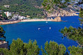 Tossa de Mar bay. Stock Photography