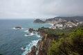 Tossa de Mar , Costa Brava coast Royalty Free Stock Photo