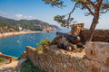 Tossa de Mar. Costa Brava, Spain Royalty Free Stock Image