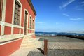Toston lighthouse and museum  Fuerteventura Canary islands Spain Royalty Free Stock Photos