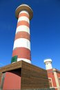 Toston lighthouse and museum  Fuerteventura Canary islands Spain Stock Photo