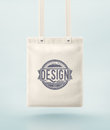 Tote bag for design eps Stock Photo