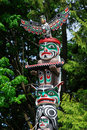 Totem pole Royalty Free Stock Photography
