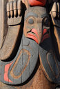 Totem pole detail Stock Images