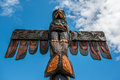 Totem Pole Royalty Free Stock Photo
