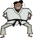 Tough Karate Man Royalty Free Stock Photography
