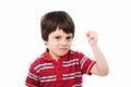 Tough kid Royalty Free Stock Photo