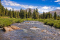 Toulumne meadows yosemite national park california Royalty Free Stock Photo