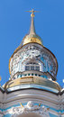 Tour de bell de st nicholas orthodox cathedral dessus Photos libres de droits