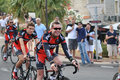 Tour de france cadel evans th of june porto vecchio th edition of the international professional cycling competition th Stock Image