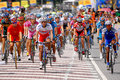 Tour de langkawi the is a multiple stage bicycle race held in malaysia it is named after the archipelago where the first Royalty Free Stock Photography