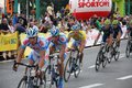 Tour de Pologne bicycle race Royalty Free Stock Photo