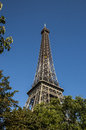 Tour eiffel paris in france Royalty Free Stock Photos
