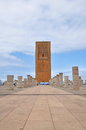 Tour Hassan tower in Rabat Royalty Free Stock Photo